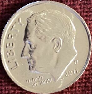 2012 D BU ROOSEVELT DIME FROM OBW