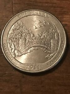 2011 P CHICKASAW NP AMERICA THE BEAUTIFUL QUARTER  BUY 6 GET 40  OFF  517