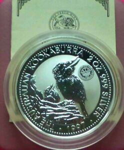 Click now to see the BUY IT NOW Price! 1997 PERTH MINT 2OZ KOOKABARRA WITH CROWN PRIVY MARK   4000 MINTED 99.9