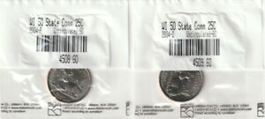 2004 P & D WISCONSIN STATE QUARTERS   LITTLETON COIN SET