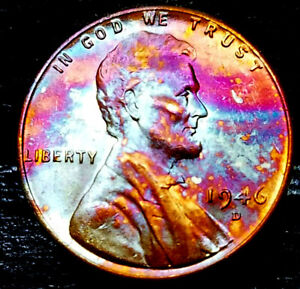 1946 D LINCOLN WHEAT PENNY CENT