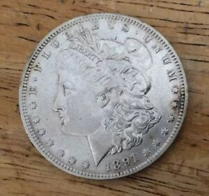 COIN: SILVER MORGAN 1891 O  CIRCULATED