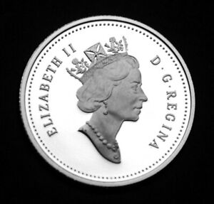 1999 10 SILVER PROOF COIN TAKEN FROM THE PROOF SET
