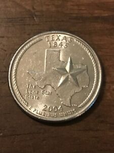 2004 P TEXAS 50 STATES QUARTER   528  BUY 8 GET 50  OFF