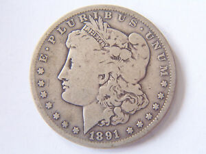 1891 O MORGAN DOLLAR
