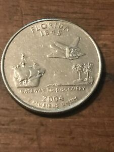 2004 P FLORIDA STATE QUARTER  BUY 6 GET 40  OFF  533