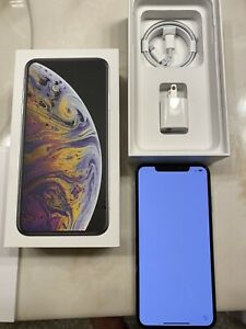 APPLE IPHONE XS MAX   256GB   SILVER  AT&T  A1921  CDMA   GSM