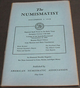 ANTIQUE   NUMISMATIST 1948 COINAGE SPANISH PROVISIONAL GOVERNMENT 1868