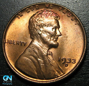 1933 D LINCOLN CENT WHEAT PENNY      MAKE US AN OFFER   B1832