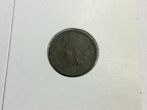 1875 INDIAN CENT IN LY FINE