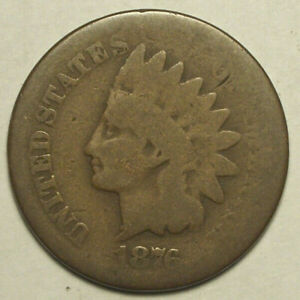 1876 INDIAN HEAD PENNY  R3