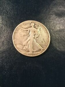 1937 WALKING LIBERTY HALF SILVER BIRTHDAY GIFT FOR SOMEONE 83 BORN IN 1937