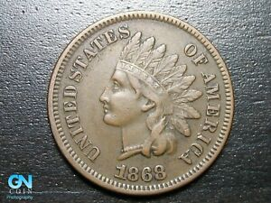 1868 INDIAN HEAD CENT PENNY      MAKE US AN OFFER   B2026