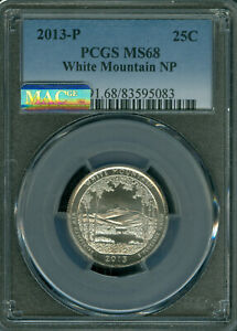 Click now to see the BUY IT NOW Price! 2013 P WHITE MOUNTAIN QUARTER NGC MS68 PQ ONLY 1 FINER MAC SPOTLESS .