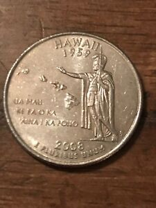 2008 P HAWAII 50 STATES QUARTER  BUY 6 GET 40   OFF IN US   625