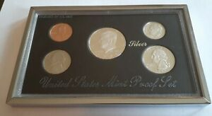 1995 UNITED STATES MINT PREMIER SILVER PROOF SET  ORIGINAL OUTER AND INNER BOX