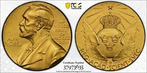 Click now to see the BUY IT NOW Price! SWEDEN. NOBEL NOMINATING COMMITTEE FOR SCIENCE GOLD MEDAL 1979. PCGS SPECIMEN
