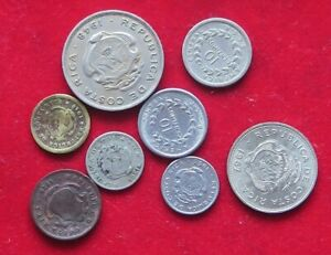 COLLECTION LOT COSTA RICA 8PC 21GR XX18 070