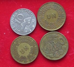 COLLECTION LOT PERU 4PC 53GR XX17 004