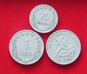 COLLECTION LOT ALBANIA 3PC 8GR XX18 003