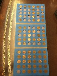 LINCOLN HEAD CENT COLLECTION 1941 1974   BONUS 66 COIN TOTAL SET