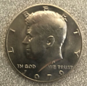 1979 LIBERTY HALF DOLLAR COIN