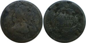 1828 1/2C CLASSIC HEAD HALF CENT CULL DAMAGED FILLER