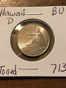 2008 D HAWAII 50 STATES QUARTER  BUY 6 GET 40   OFF  713