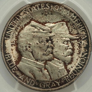 1936 50C BATTLE OF GETTYSBURG COMMEMORATIVE 1/2 DOLLAR PCGS MS66 PRICE DISCOUNT