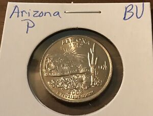 2008 P ARIZONA STATE QUARTER  BUY 6 GET 40  OFF  720