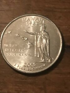 2008 P HAWAII 50 STATES QUARTER  BUY 6 GET 40   OFF IN US   721