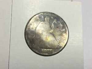 1877  S SEATED LIBERTY HALF DOLLAR VALUED PRICED