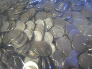 Click now to see the BUY IT NOW Price! MEGA LOAD  $60 000 JEFFERSON NICKELS 300  BANK BAGS CIRCULATED COINS 13 000 LBS