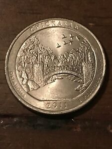 2011 P CHICKASAW NP AMERICA THE BEAUTIFUL QUARTER  BUY 6 GET 40  OFF  801