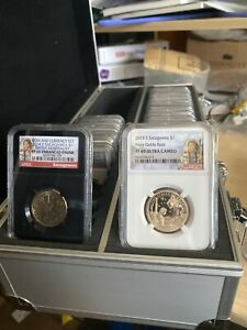 Click now to see the BUY IT NOW Price! 2000 20 SACAGAWEA PROOF NATIVE NGC69 COMPLETE SET