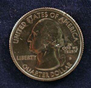 2012 S QUARTER ACADIA NAT PARK FROM UNCIRCULATED MINT ROLL