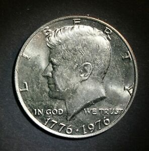 1976 P KENNEDY HALF DOLLAR  FROM UNCIRCULATED MINT ROLL