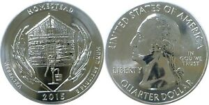 2015 AMERICA THE BEAUTIFUL HOMESTEAD 5 OZ. SILVER QUARTER