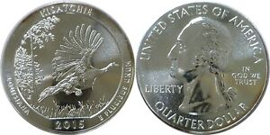 2015 AMERICA THE BEAUTIFUL KISATCHIE 5 OZ. SILVER QUARTER
