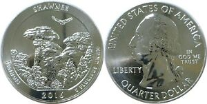 2016 AMERICA THE BEAUTIFUL SHAWNEE 5 OZ. SILVER QUARTER