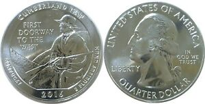 2016 AMERICA THE BEAUTIFUL CUMBERLAND GAP 5 OZ. SILVER QUARTER