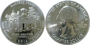 2016 AMERICA THE BEAUTIFUL HARPERS FERRY 5 OZ. SILVER QUARTER