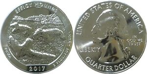2017 AMERICA THE BEAUTIFUL EFFIGY MOUNDS 5 OZ. SILVER QUARTER