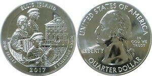 2017 AMERICA THE BEAUTIFUL ELLIS ISLAND 5 OZ. SILVER QUARTER