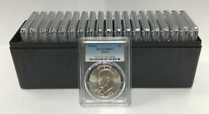 Click now to see the BUY IT NOW Price! 1976 S SILVER EISENHOWER IKE DOLLAR PCGS MS67   20 COIN SET   SHIP IN PCGS BOX