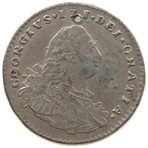 GREAT BRITAIN MAUNDY PENNY 1800 GEORGE III. T82 091