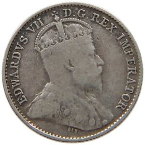 CANADA 5 CENTS 1905 T45 401