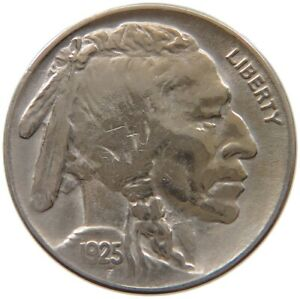 UNITED STATES NICKEL 1925 A34 759