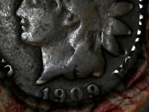 INDIAN HEAD PENNY ROLL 1891 / 1909 SHOWING