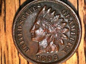 1893 INDIAN HEAD CENT IN GREAT CONDINTION